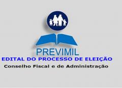 PREVIMIL inicia processo de eleição para o Conselho Fiscal e de Administração