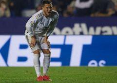 Real Madrid: Hazard tem fratura, vira desfalque na Champions e contra Barcelona e para por dois meses