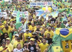 Ato opõe apoiadores de Bolsonaro e da Lava Jato