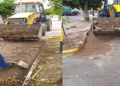 FINAL DE SEMANA – Prefeitura Municipal de Milagres promove força tarefa e realiza limpeza da cidade após chuvas