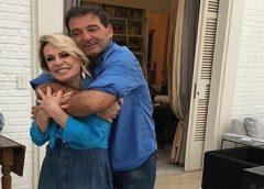 Ana Maria Braga mostra 1ª foto após casamento com empresário francês