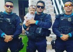 Criança de 6 meses é salva por policiais militares após sofrer engasgo no Jóquei Clube