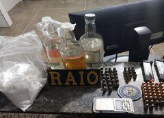 Polícia apreende munição e droga após perseguição a suspeitos em Fortaleza
