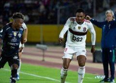 Flamengo busca virada no Equador, mas cede empate ao Del Valle
