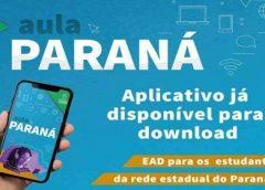 Aulas na rede estadual do Paraná começam nesta 2ª feira pelo aplicativo Aula Paraná