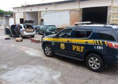 Dois homens são presos com 25 mil maços de cigarro roubados em Patos, PB, diz PRF