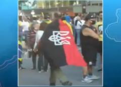 Polícia investiga a presença de símbolo neonazista em protesto na Avenida Paulista