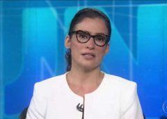 Globo explica ausência de Renata Vasconcellos do Jornal Nacional