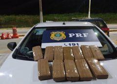 Três são presos com mais de 12 quilos de droga em veículo na BR-222 em Ubajara, no Ceará