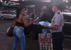 PMDF distribui 4,5 mil máscaras em Ceilândia