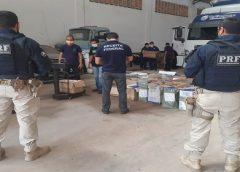 PRF apreende cerca de 400 kg de mercadoria estrangeira sem nota fiscal na Grande Fortaleza