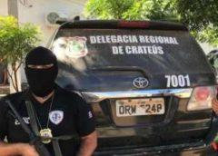 Polícia prende trio cearense suspeito de roubo milionário no Maranhão