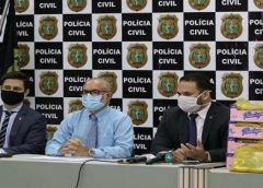 Polícia apreende 60 kg de cocaína que seriam transportadas em carga de mangas