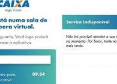 Com alta demanda em aplicativo da Caixa, beneficiários do auxílio não conseguem pagar contas