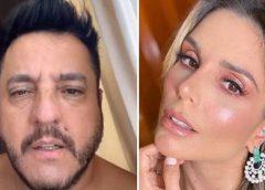 Sertanejo Bruno pede desculpas à Flávia Viana após constrangimento