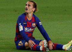 Griezmann sofre lesão e não tem prazo para voltar ao Barcelona