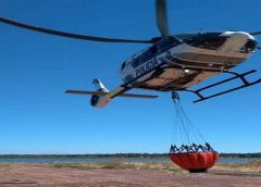 """""""Bambi bucket"""": conheça tática de combate a incêndio abordada em treinamento da Ciopaer"""