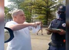 Após nova saída sem máscara, CNJ avalia afastar desembargador que humilhou guarda