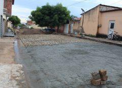 Mais de 30 ruas pavimentadas na atual gestão em Milagres