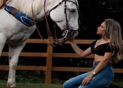 Garota morre atropelada por um cavalo quando tangia o gado em uma fazenda