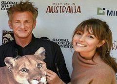 Sean Penn confirma casamento com atriz australiana, 31 anos mais nova