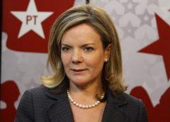 """Gleisi Hoffmann garante que PT quer """"mostrar que existe"""" nas Eleições deste ano"""