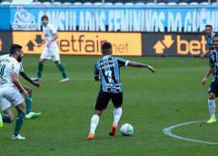 Grêmio empata no final e impede ascensão do Palmeiras