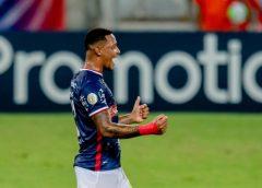 Com dois gols de David, Fortaleza vence Palmeiras no Castelão e chega a 10 jogos seguidos sem perder