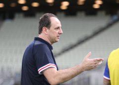 """Ceni revela surpresa com escalação do Palmeiras e explica a do Fortaleza: """"Planejamento para três jogos decisivos"""""""