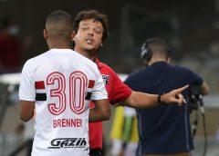De negociável a artilheiro: Brenner cresce no São Paulo sob comando de Diniz e se torna peça-chave
