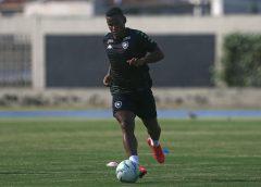 Éber Bessa e Guilherme Santos testam positivo para Covid-19 e desfalcam o Botafogo