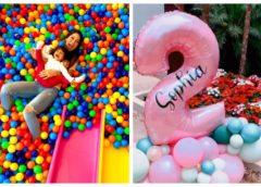 Mayra Cardi faz festa para celebrar 2 anos da filha Sophia