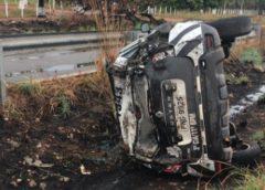 Policial militar morre em acidente com viatura da PM na rodovia CE-085