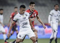Análise: Ceará engata 4º jogo sem vitórias no Brasileirão com atuação morna e liga alerta