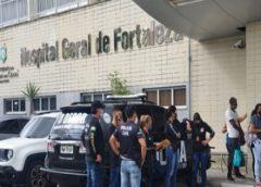 Operação da Polícia Civil apura ação de quadrilha no Hospital Geral de Fortaleza