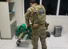 PRF prende casal que transportava mais de R$ 3 milhões em cocaína