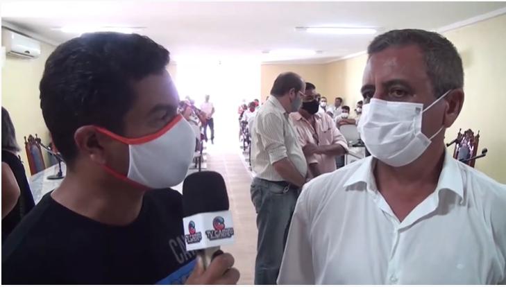 Prefeito Isaac Júnior fala como encontrou o município, Deputado Guimarães reafirma seu compromisso