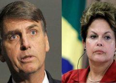 Média de apoio a Bolsonaro só supera índice de Dilma