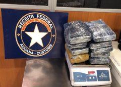 Receita Federal apreende 11,6 kg de 'supermaconha' no Aeroporto de Fortaleza