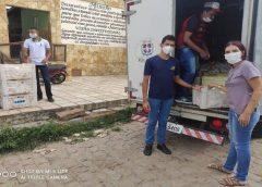 Secretaria do Trabalho e Assistência Social distribui leite a 16 entidades do município