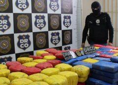 15 pessoas são presas em operação interestadual que apreendeu 600 kg de drogas