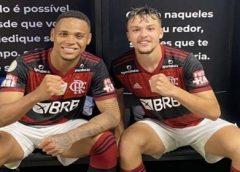 Em busca de afirmação, Natan e Noga reeditam parceria da base e recebem elogios no Flamengo