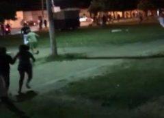 Festa com 500 pessoas em praça de Missão Velha é encerrada pela Polícia