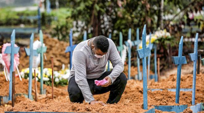 Ceará registra 117 mortes por Covid em um dia e ocupa o sexto lugar