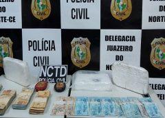 Polícia Civil desarticula esquema de distribuição de drogas na região do Cariri