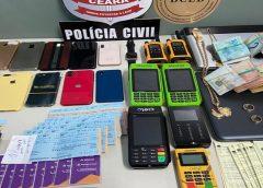 Homem é preso em Itapipoca suspeito de lavagem de dinheiro; Polícia apreende R$ 2,6 milhões