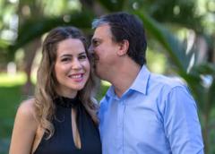 Primeira-dama está grávida e Camilo Santana será pai pela terceira vez