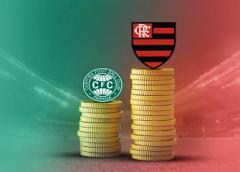 Separados por R$ 14 milhões em salários, Coritiba e Flamengo medem forças pela Copa do Brasil