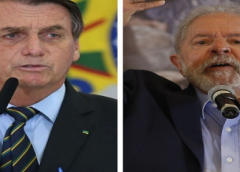 Bolsonaro e Lula seguem em empate técnico para 1º turno de 2022, indica pesquisa
