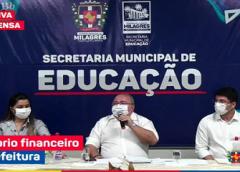 PREFEITO DETALHA ATUAL EQUILIBRO FINANCEIRO DO GOVERNO MUNICIPAL DE MILAGRES